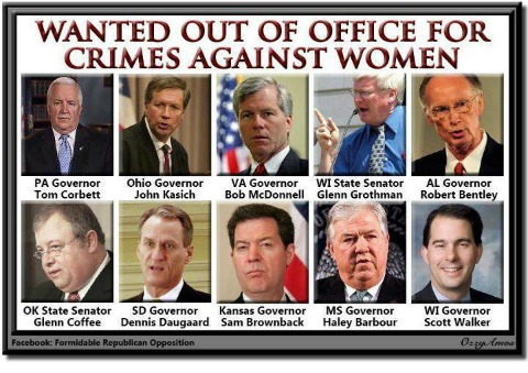 GOP Representatives Hurting the Rights and Safety of Women